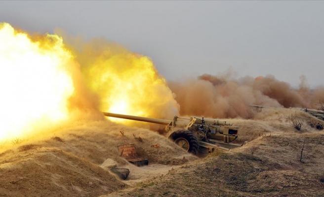 Azerbaycan Ordusu, Ermenistan'ın Tank Ve Toplarını İmha Etti