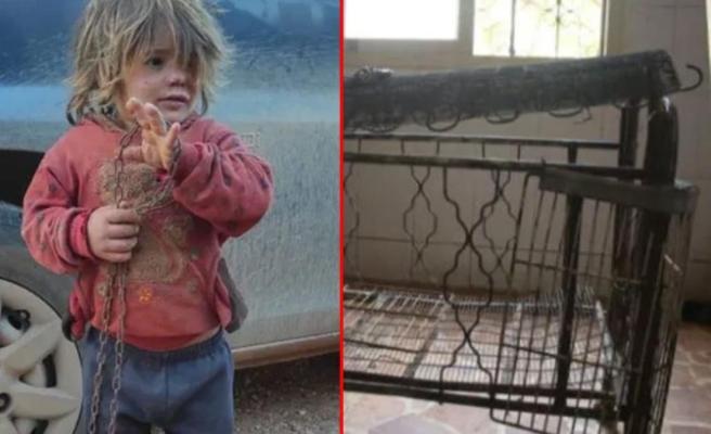 Babasının zincirle bağladığı 6 yaşındaki çocuk, günlerce aç kaldıktan sonra hızlı yemek yerken boğuldu