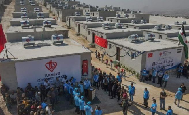 Bağış İçin Vatandaşa Çağrı Yapıldı: Türk Diyanet Vakfı'ndan Suriye'ye 30 Milyon Liralık Konut