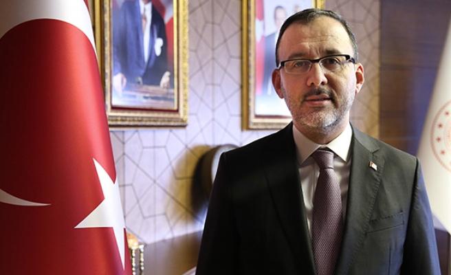 Bakan Kasapoğlu'ndan 19 Mayıs mesajı