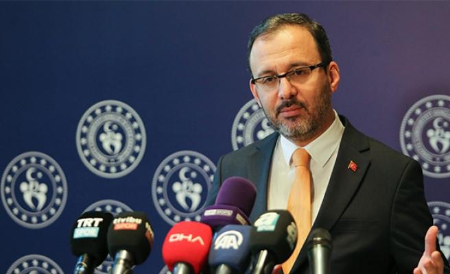 Bakan Kasapoğlu: 'Şiddeti, gerilimi, nefreti, kini sporla yan yana getirmememiz lazım'