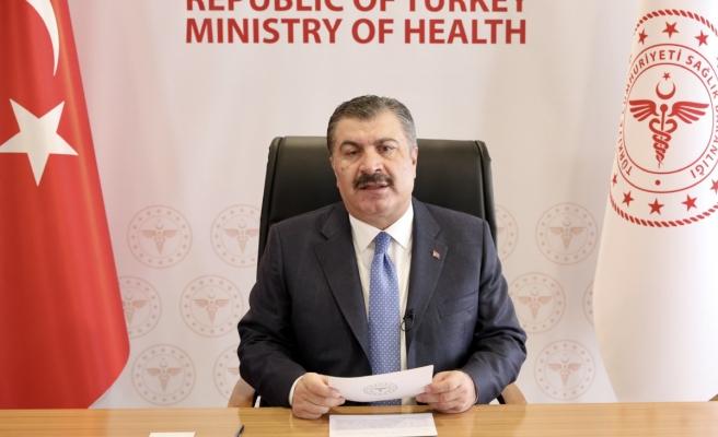 Bakan Koca, 'G20 Sağlık Bakanları Toplantısı'nda konuştu