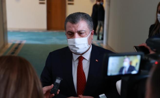 """Bakan Koca: """"Türkiye'de mutasyonun görülme oranı yüzde 75'lere ulaştı"""