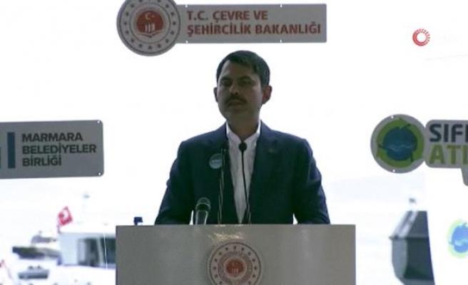 Bakan Kurum: '15 bölgede temizlik çalışmalarını eş zamanlı başlatıyoruz'