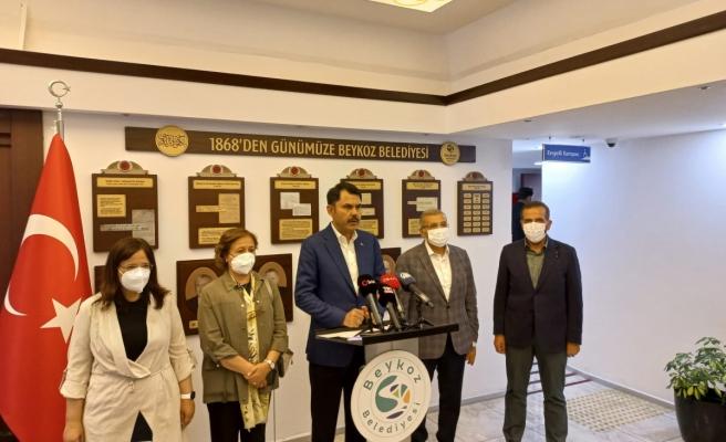 Bakan Kurum: 'Marmara Denizi'ni en kısa zamanda eski haline getireceğiz'