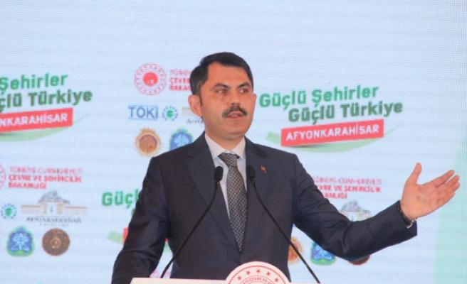 Bakan Kurum: 'Türkiye genelinde 321 Millet Bahçesinin 57'si tamamlandı'