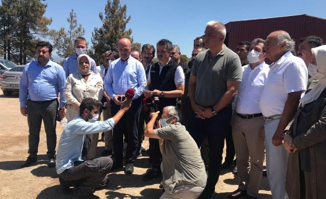 Bakanlar Muğla'da Son Durumu Açıkladı: 'Her Gelen Yardımı Kabul Etmiyoruz