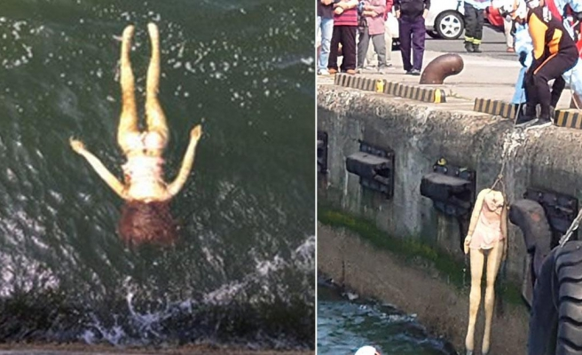 Balıkçılar Ceset Sanıp Polisi Aradı, Denizden Şişme Bebek Çıktı
