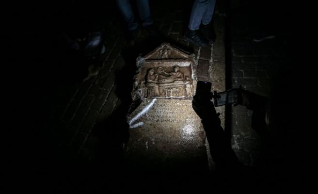 Balkondan İnşaatı İzleyen Vatandaş Tarihi Eseri Fark Etti: 2 Bin Yıllık Olduğu Düşünülüyor