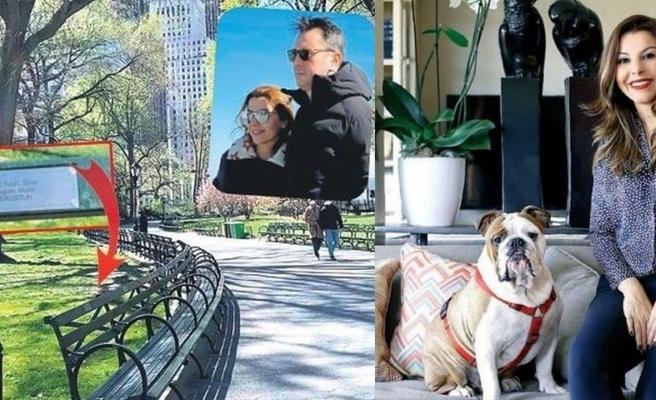 Begüm Işıküstün, 10 bin dolar verip Central Park'ta bank satın aldı