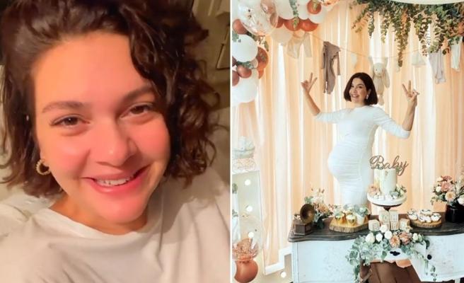 Bergüzar Korel'in sürpriz baby showerı