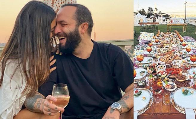 Berkay'dan 4. evlilik yıl dönümüne lüks kutlama