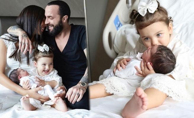 Berkay kızı Zeynep Mira'nın yüzünü ilk kez gösterdi