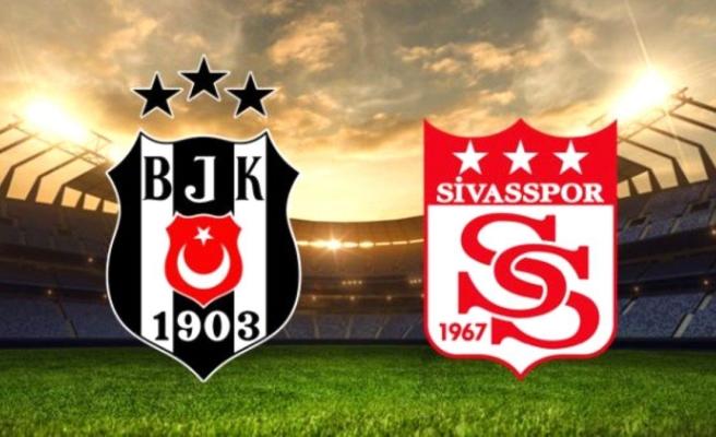 Beşiktaş Sivasspor maçı saat kaçta, hangi kanalda? Beşiktaş Sivasspor şifresiz mi, ne zaman?