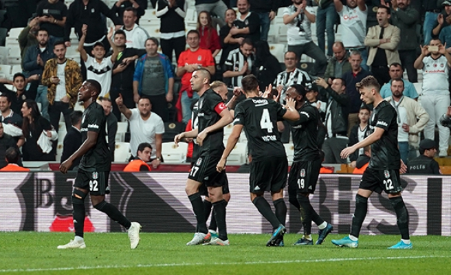 Beşiktaş'tan 3 maçlık galibiyet serisi