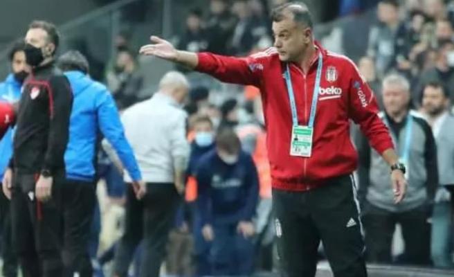Beşiktaş Yardımcı Antrenörü Murat Şahin: Sergen Hoca'nın atılmasının nedeni sahaya girip topa vurması