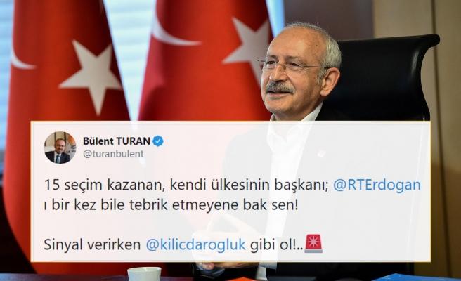 Biden'ı Tebrik Eden Kılıçdaroğlu'na AKP'den Tepki: 'Sinyal Verirken Kemal Kılıçdaroğlu Gibi Ol!'