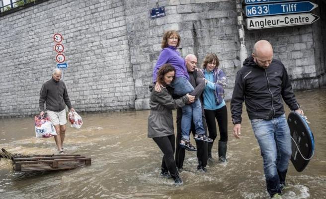 Bilanço Ağırlaşıyor: Almanya'da 133, Belçika'da En Az 23 Can Kaybı