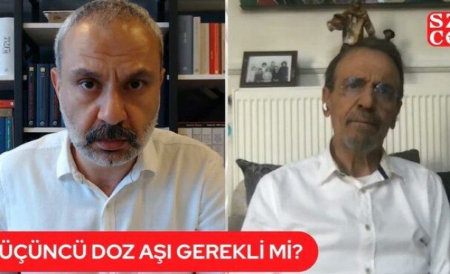 Biontech Sinovac aşısı: 3. doz gerekli mi? Prof. Dr. Mehmet Ceyhan Sözcü TV'ye açıkladı
