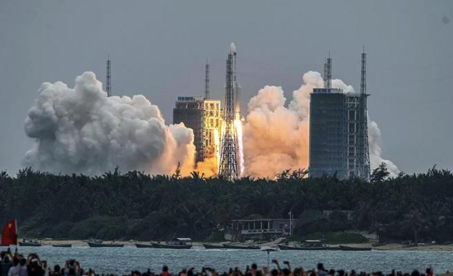Bir Bu Eksikti! Çin'in Uzaya Gönderdiği İlk Roketin Parçaları 10 Mayıs'ta Dünya'ya Düşebilir