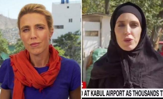 Bir Gün Arayla: CNN Muhabiri Clarissa Ward, Taliban'ın Afganistan'ı Ele Geçirmesinden Sonra Kara Çarşafa Girdi