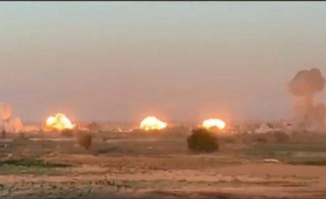 Birleşik Ortak Görev Gücü terör örgütü DEAŞ'ı bombaladı
