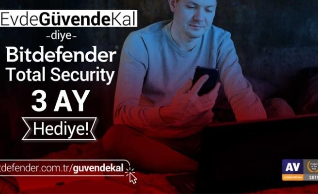 Bitdefender Antivirüs ücretsiz!