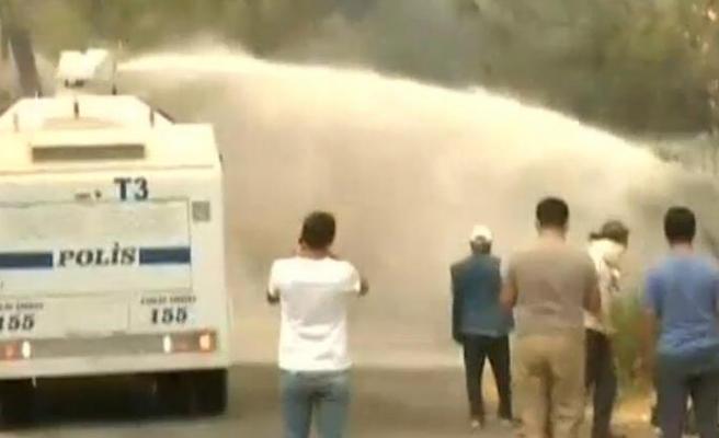 Bodrum'da Orman Yangını Mazıköy'e Kadar Ulaştı
