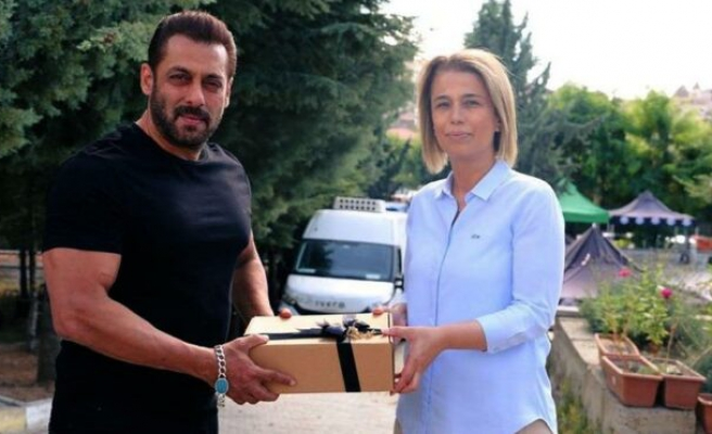 Bollywood yıldızı, Kapadokya'da