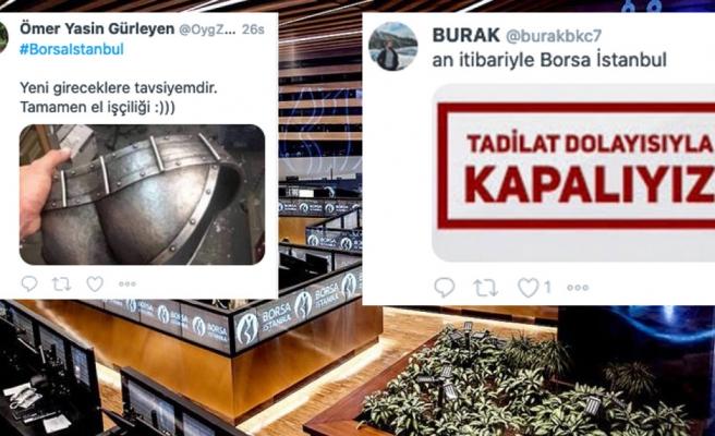 Borsa İstanbul'un 2 Günde 4 Kez Devre Kesmesi Goygoycuların Diline Düştü