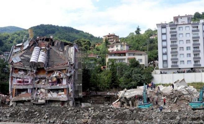 Bozkurt'ta Çöken Ölçer Apartmanının Müteahhidinin Mal Varlığına Tedbir Konuldu