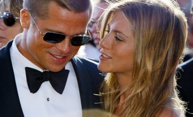 Brad Pitt ile Jennifer Aniston 19 yıl sonra aynı gösteride