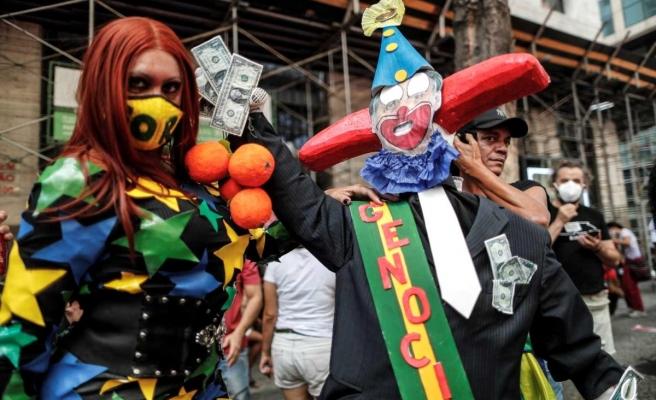 Brezilya'da göstericiler Bolsonaro'nun görevden azledilmesini istedi