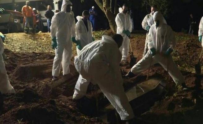 Brezilya'da koronavirüs ölümleri 400 bini geçti, Devlet Başkanı Bolsonaro hakkında soruşturma başlatıldı