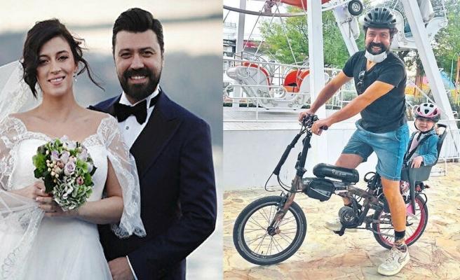 Bülent Emrah Parlak sevimli kızıyla objektiflere yansıdı