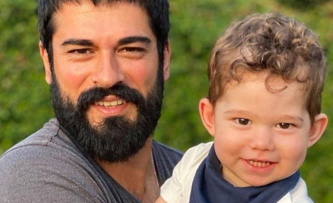 Burak Özçivit ve oğlu Karan sosyal medyanın 'süper ikilisi' oldu!