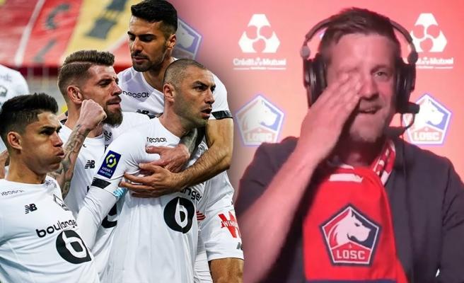 Burak Yılmaz, Lille Formasıyla Gol Atınca Gözyaşlarına Hakim Olamayan Fransız Spiker