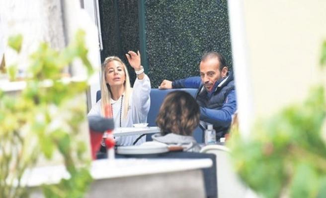 Burcu Şendir Can Helvacıoğlu ile görüntülendi