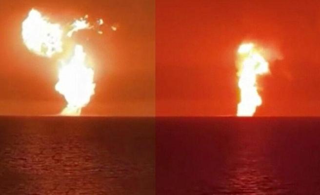Çamur Volkanı İddiası: Hazar Denizi'nde Patlama Meydana Geldi