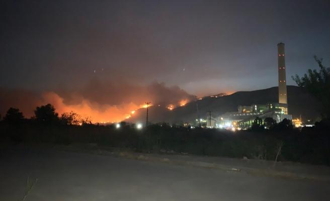 Canlı Blog   Milas'taki Yangın Termik Santralle Temas Etti