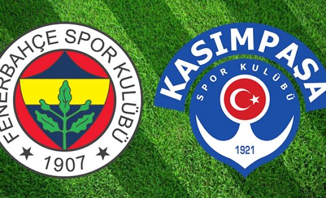 CANLI İZLE: Fenerbahçe Kasımpaşa | FB Kasımpaşa şifresiz izle| Fenerbahçe Kasımpaşa Maç kaç kaç