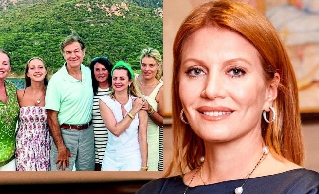 Caroline Koç, Mehmet Öz ve ailesini ağırladı