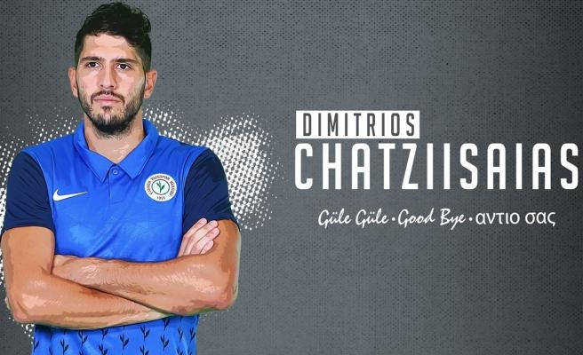 Çaykur Rizespor, Dimitrios Chatziisaias ile yollarını ayırdı