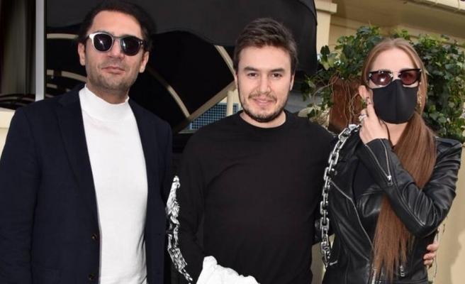 Ceceli çifti yakışıklı sanatçı Yaşar İpek'le buluştu