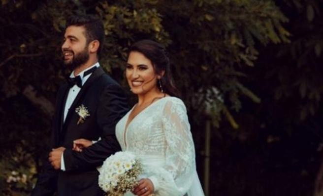 Cemile Canyurt ve Mertkan Kaya evlendi