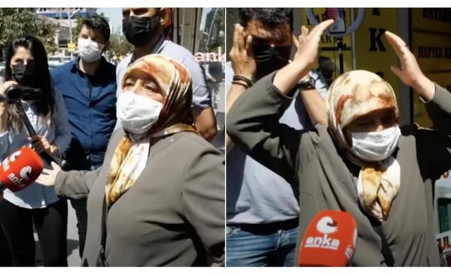 CHP Heyetinin Ziyaret Ettiği Erzurum'da Bir Teyze İsyan Etti: