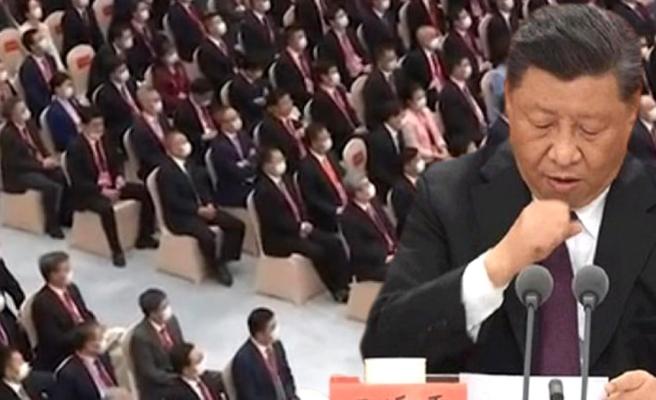 Çin Devlet Başkanı Şi'yi öksürük tutunca devlet televizyonu yayını kesti