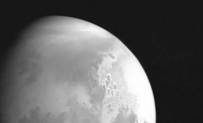 Çinlilerden ilk Mars fotoğrafı