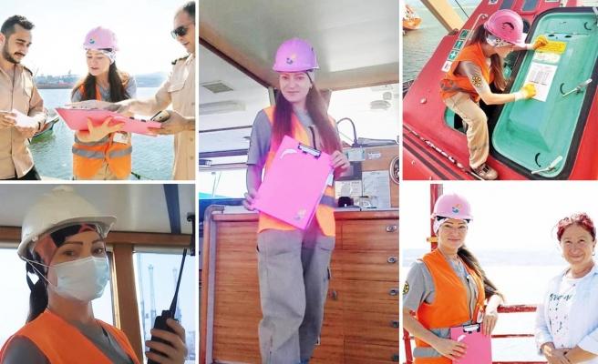 Cinsiyetçi 'Gemi Adamı' İfadesine Kızıp Mevzuat Değiştiren Gemici: Mehtap Karatepe