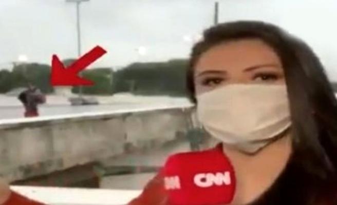 CNN'in Brezilya'da görev yapan muhabiri canlı yayında gasp edildi